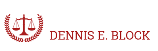 Law Offices of Dennis E Block Logo